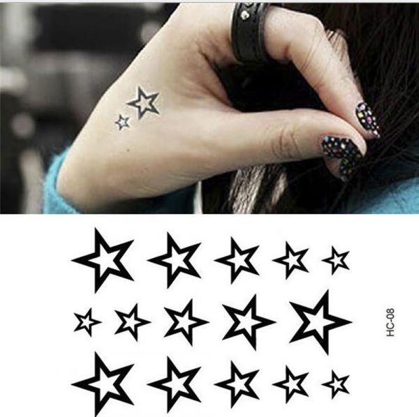 Tattoos stars