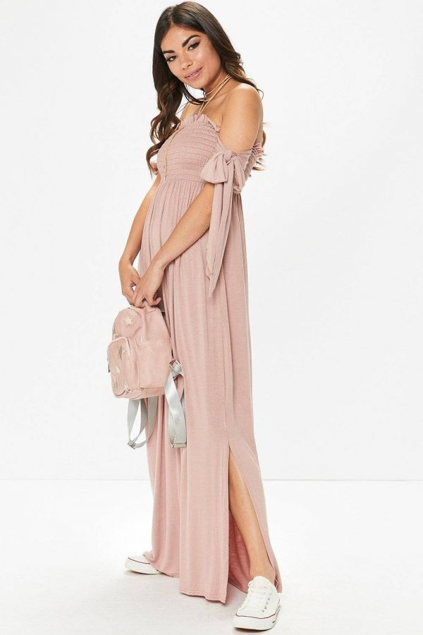 Dress Maxi sleeveless pink