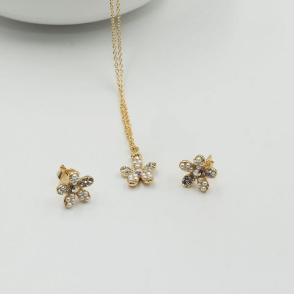 Crystal Smooth Flower Set