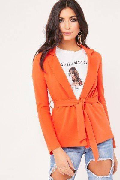 Blazer Orange Stylish Belt