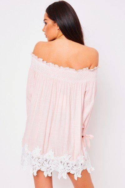 Short crochet dress from Bardo