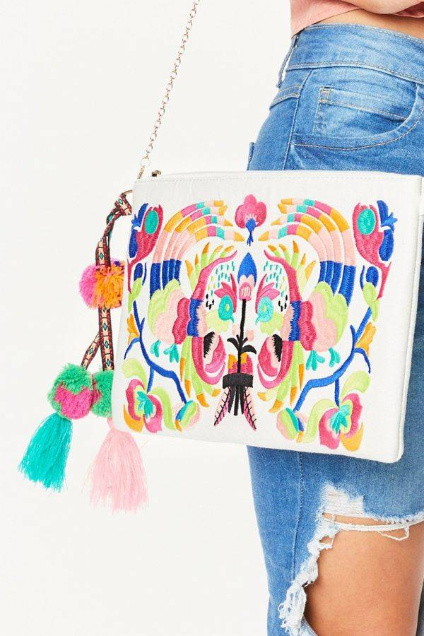Ashley bag embroidered summer