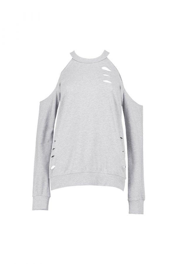 T-shirt gray long sleeves