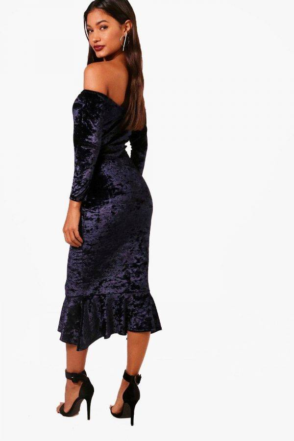 Dress Medium Velvet Length