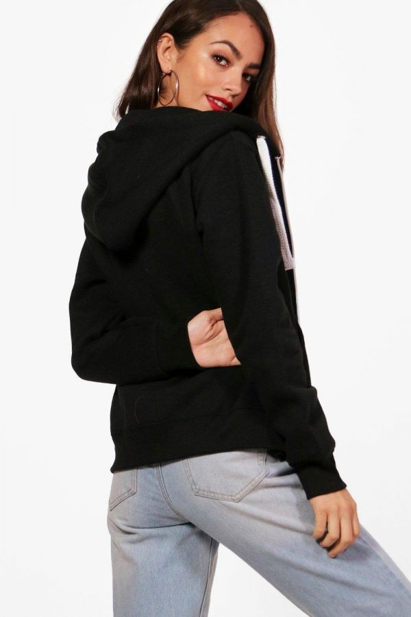Hoody Sweet T-shirt with sleeves and capucco