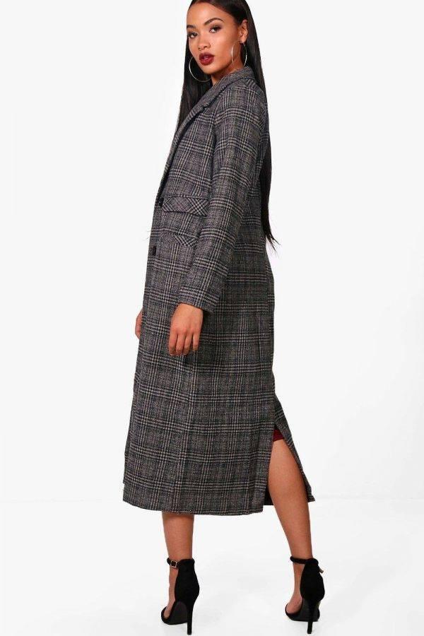 Maxi fleece jacket