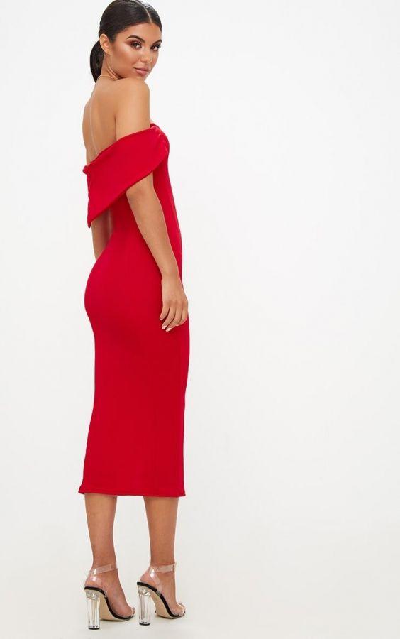 Dress Red medium length