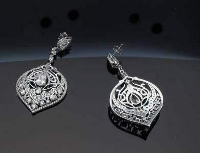Razhen Zircon wedding ring