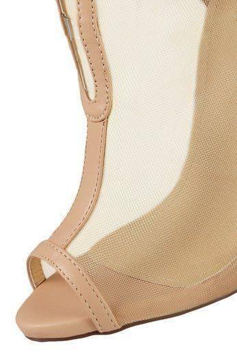 حذاء شير ليجيند باللون البيج-3