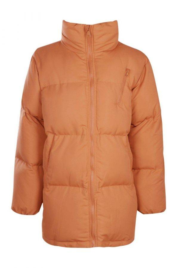 Jacket with padded collar