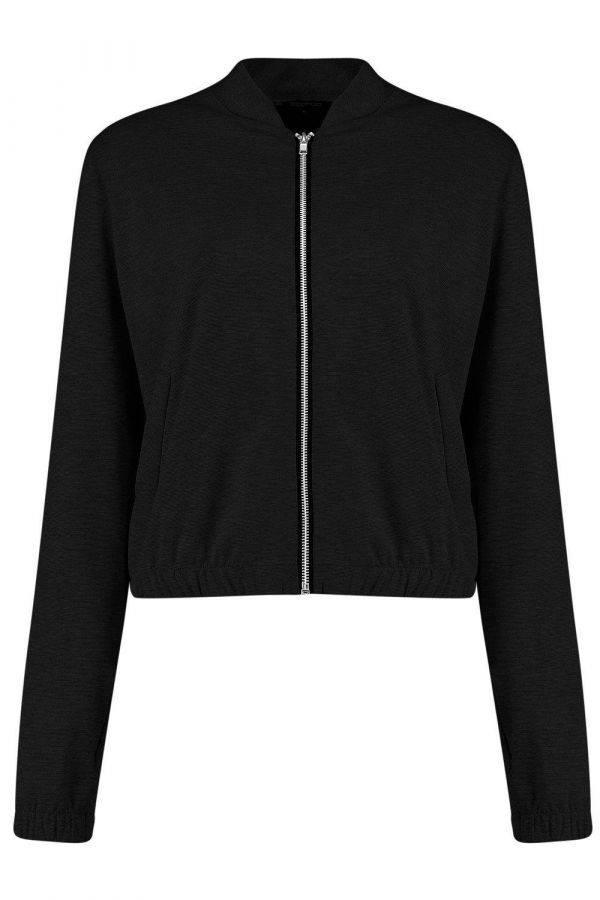 Short black jacket