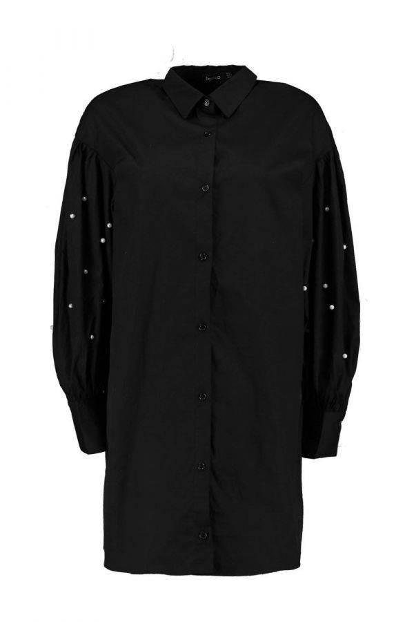 Dress-up beaded shirt
