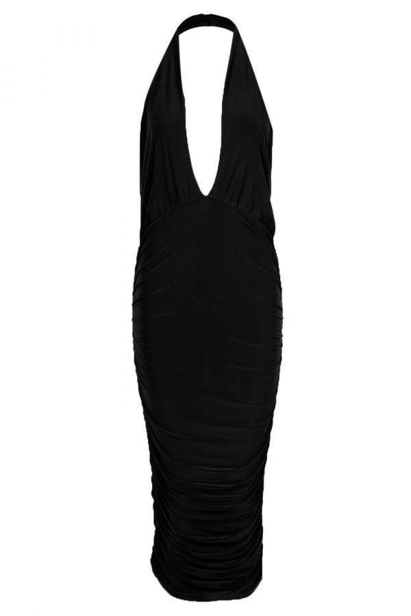 Maui Black Dress