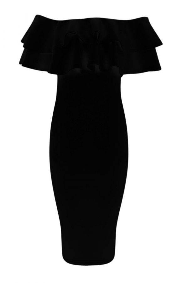 Dress of Scholder Black Bohoo