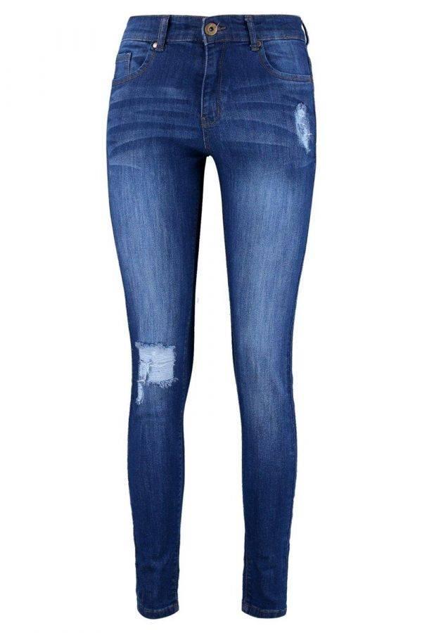 بنطلون جينز ماركة بوهو-3