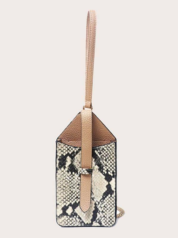 حقيبة جوال جلد ثعبان-3