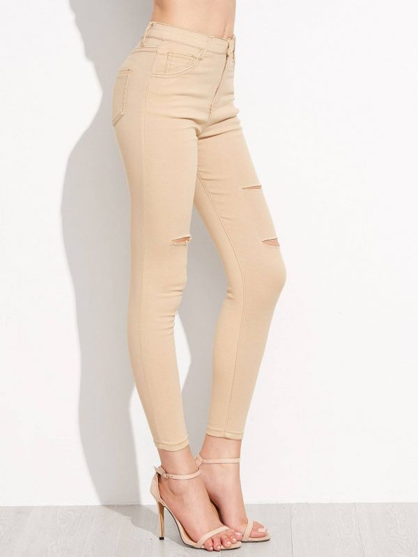 Jackie jeans torn fashion torn