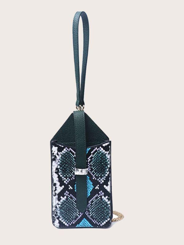 حقيبة جوال جلد ثعبان-4