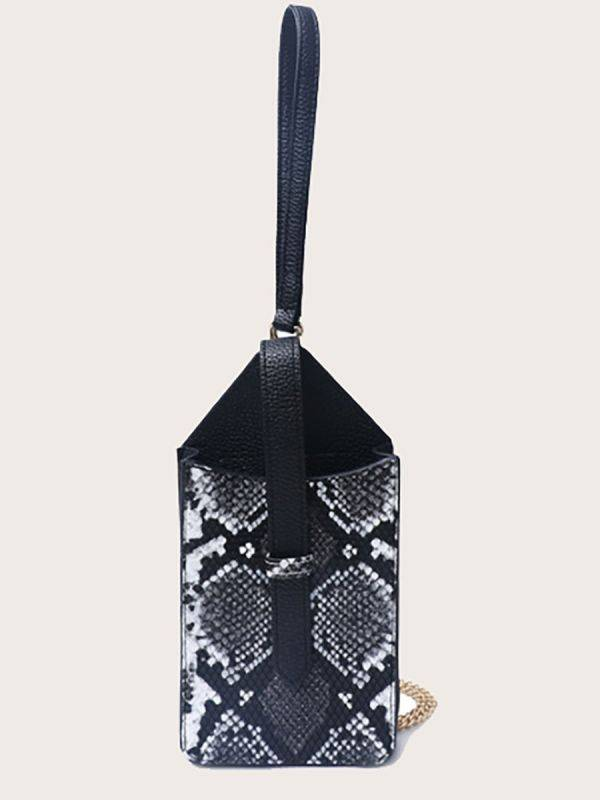 حقيبة جوال جلد ثعبان-5