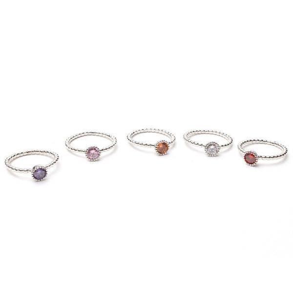 Ring Cubic Zirconia Set