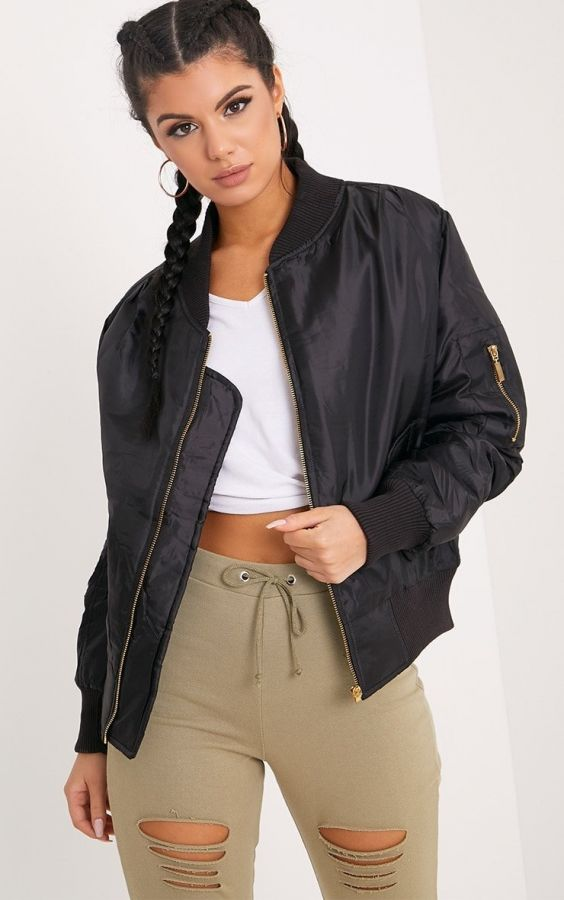 Short khaki jacket