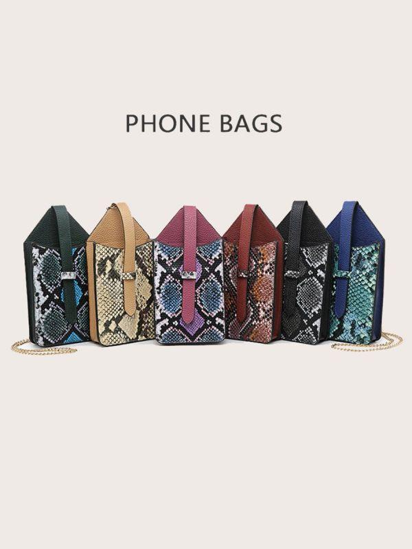 حقيبة جوال جلد ثعبان-6