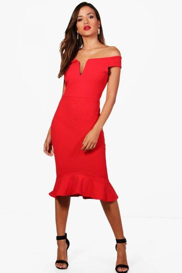 Dress of the red