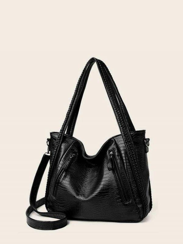 Black practical bag
