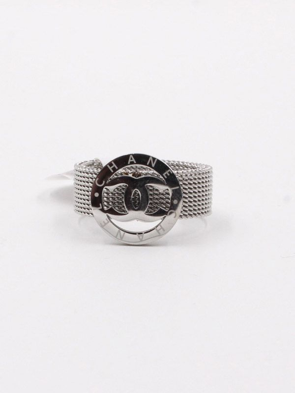 Chanel stainless steel ring