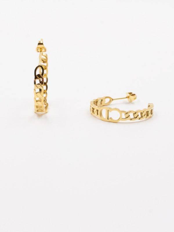 Dior circular earring