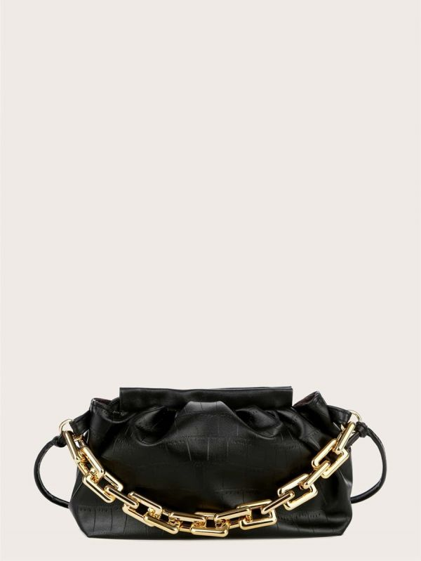 Small bag with a golden belt