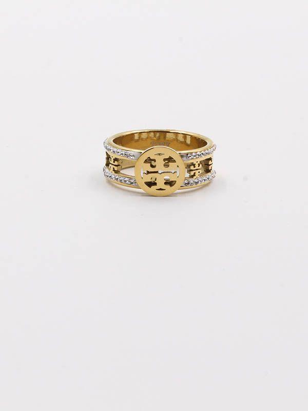 Tory Burch crystal ring