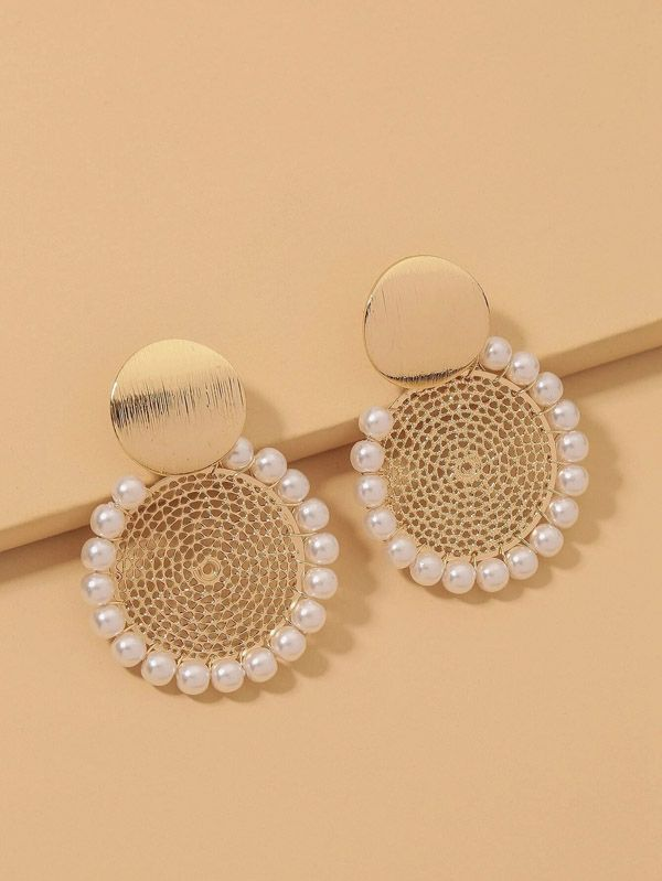 Lolo Round Casual Earring
