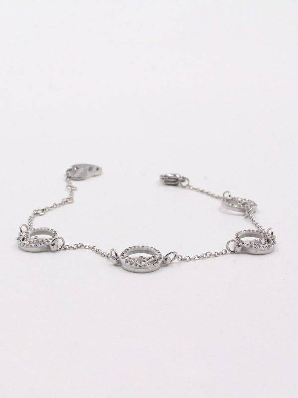 Fendi soft crystal bracelet