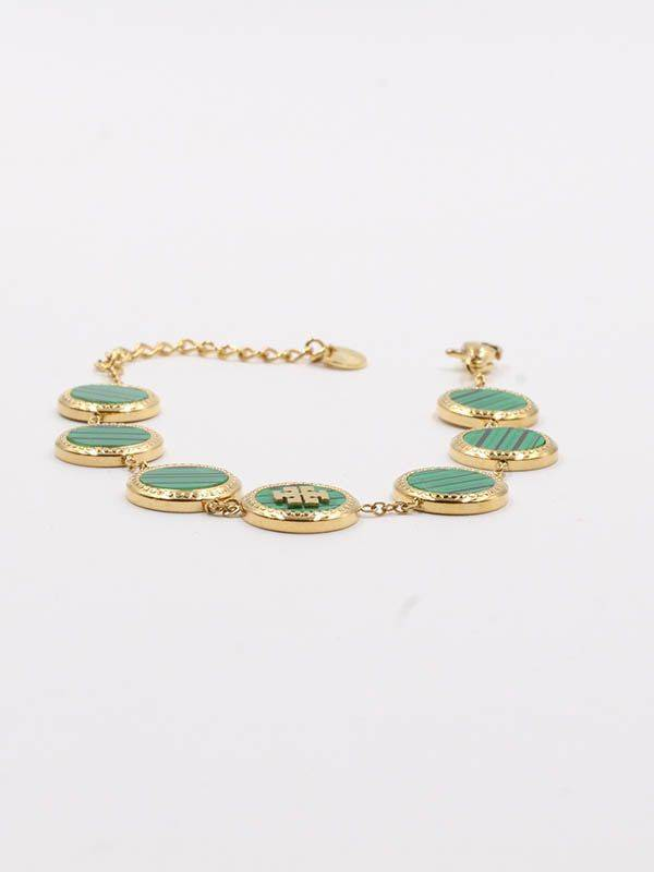 Tory Burch colored pendent bracelet