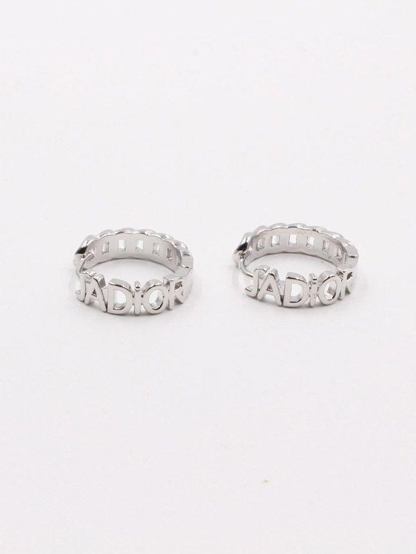 Dior metal stainless steel earring