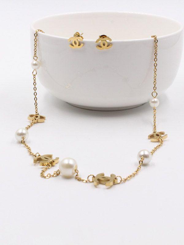 Lulu chenille necklace set