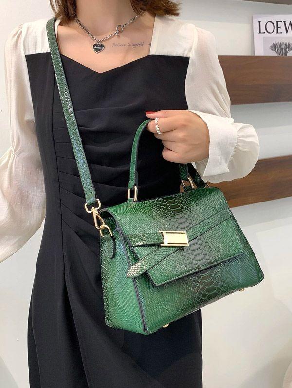 حقيبه ساتشيل نسائيه اخضر