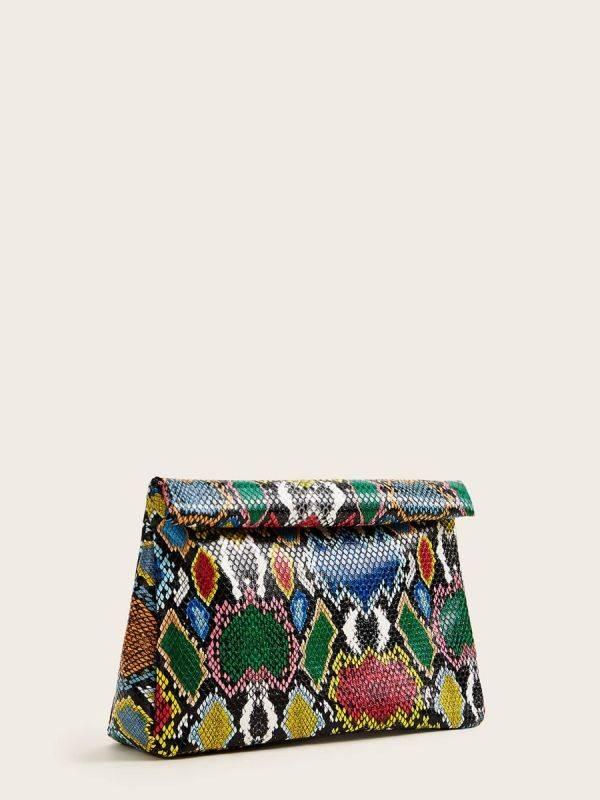 حقيبة يد ملونة