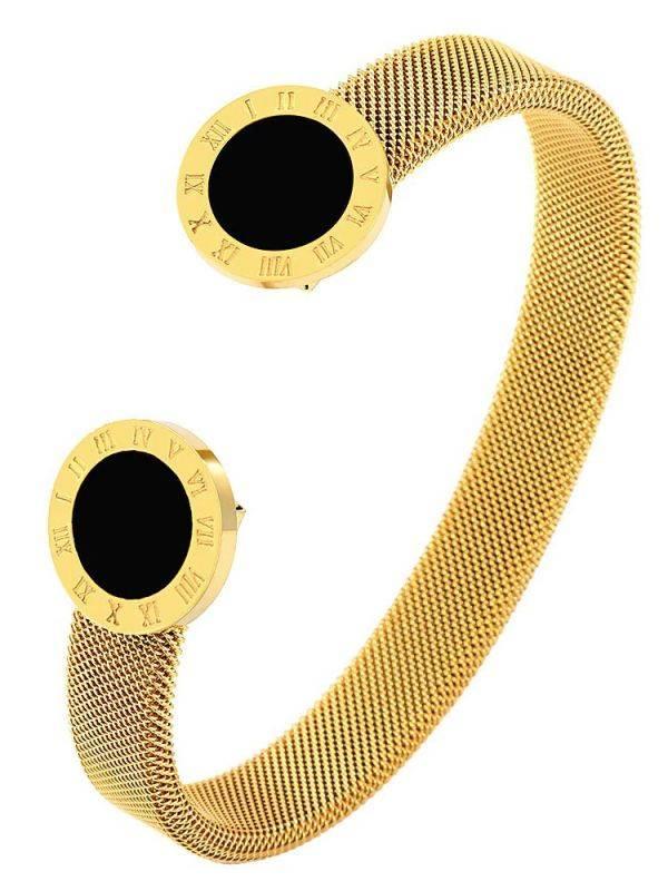 Bulgari Round Metal Bracelet