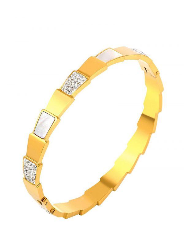 Bvlgari crystal bracelet