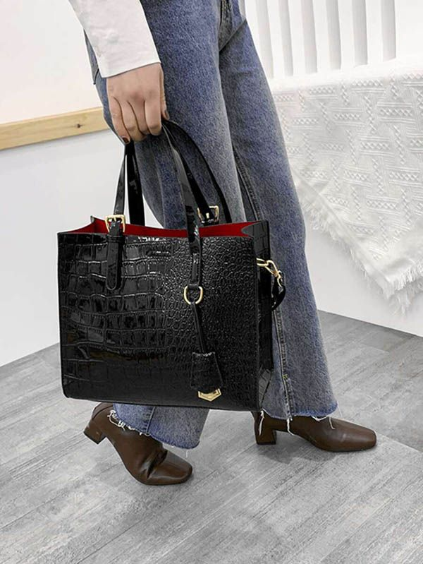A large women's handbag