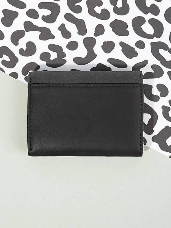 محفظه جلديه سوداء-3