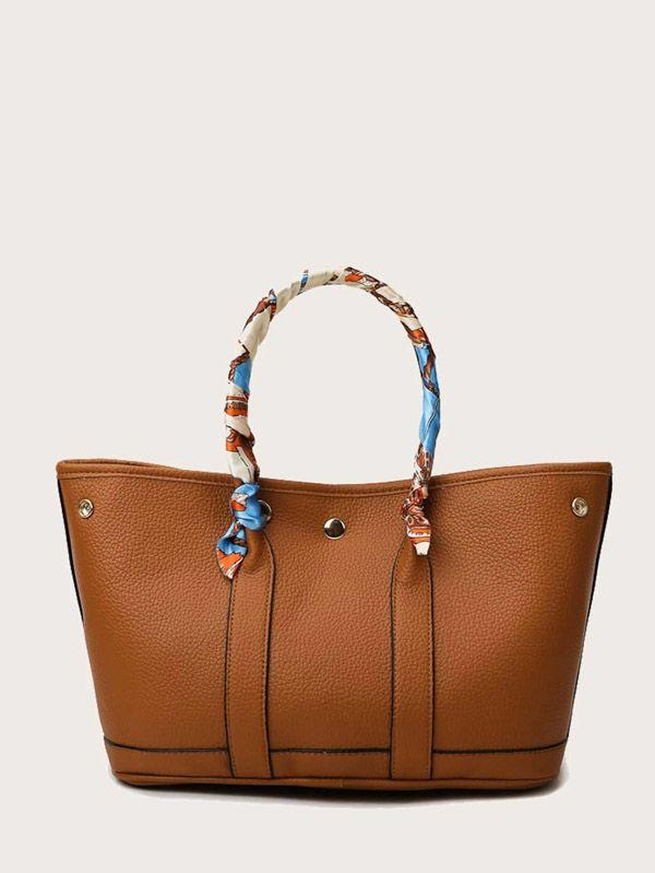 حقيبة يد نسائية بني-2