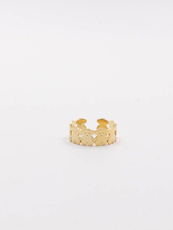 Gold Toss ring