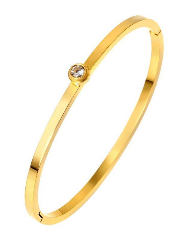 Bracelet with zircon transfer