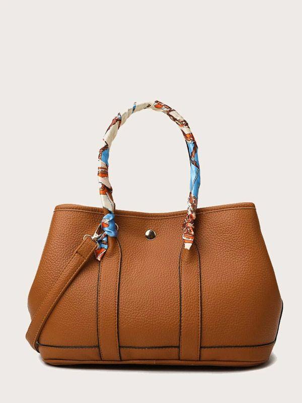 حقيبة يد نسائية بني-3