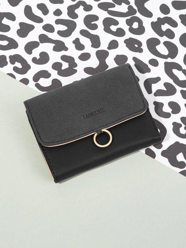محفظه جلديه سوداء