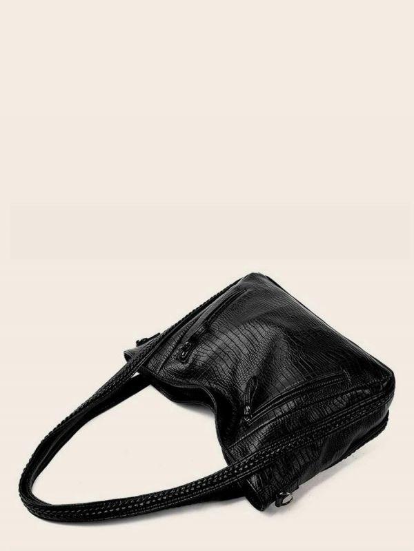 Black practical bag
