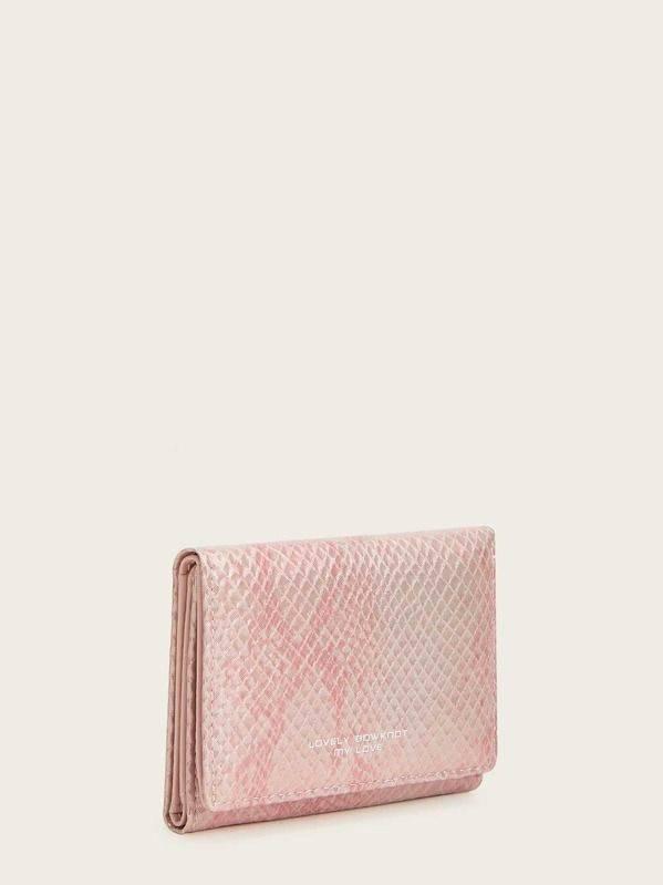 محفظة نقود بالطي جلد تمساح-4